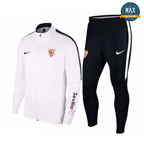 Veste Survetement Seville 2019/20 Blanc