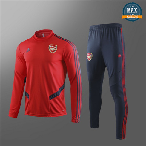 Survetement Arsenal Enfant 2019/20 Rouge/Bleu