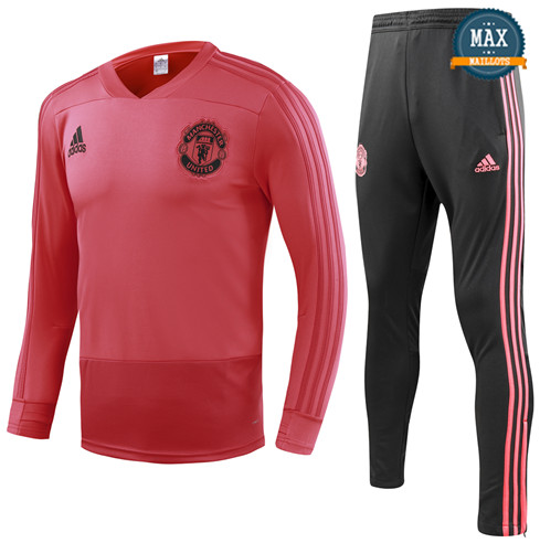Survetement Enfant Manchester United 2019/20 Rouge