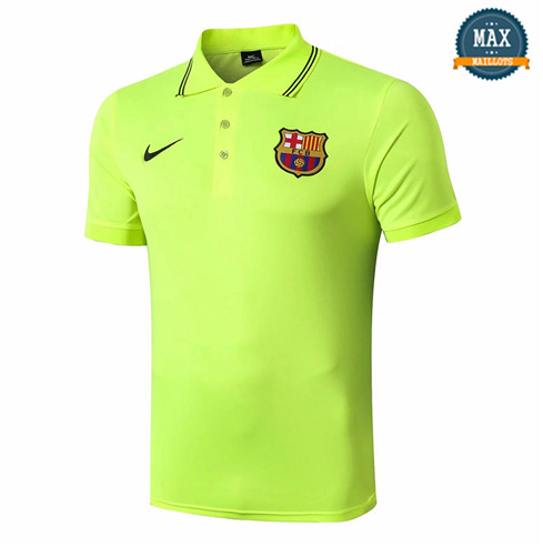 Maillot Polo Barcelone Vert 2019/20