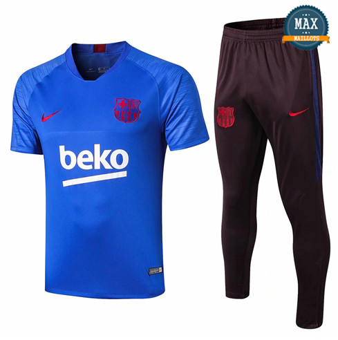Maillot + Pantalon Barcelone 2019/20 Training Bleu