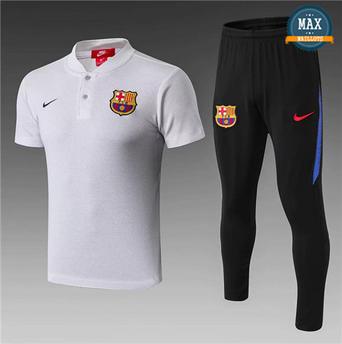 Maillot Polo Barcelone 2018/19 Training Gris