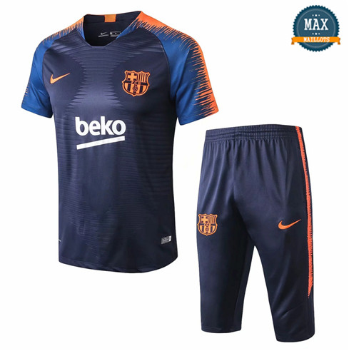 Maillot Barcelone 2018/19 Training Bleu Marine Strike Drill