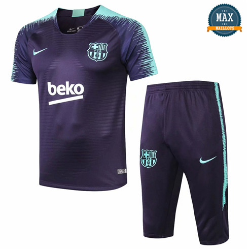 Maillot Barcelone 2018/19 Training Bleu Violet Strike Drill