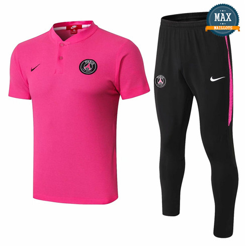 Maillot Polo PSG 2018/19 Training Rose