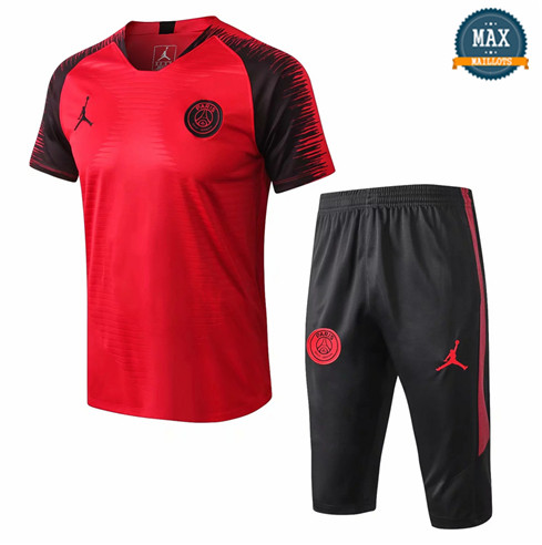 Maillot PSG Jordan 2018/19 Training Rouge Strike Drill