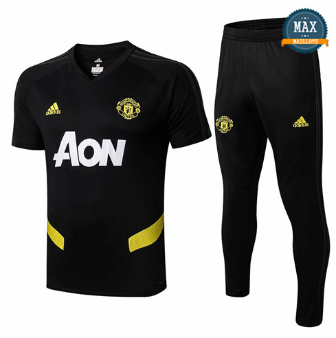 Maillot + Pantalon Manchester United 2019/20 Training Noir