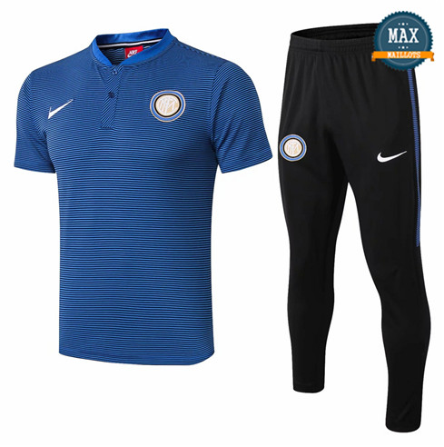 Maillot Polo Inter Milan 2018/19 Training Bleu