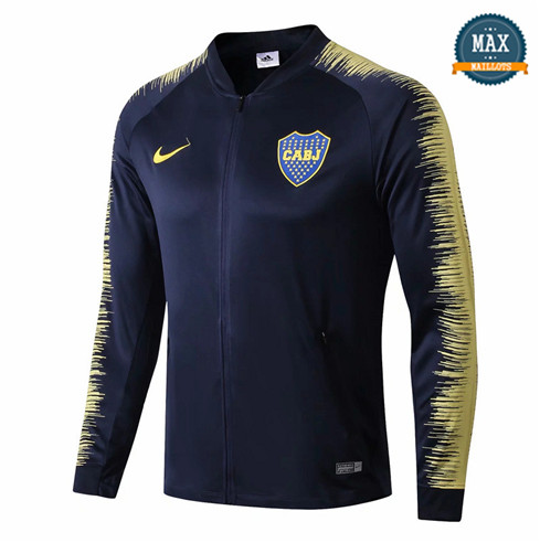 Veste Boca Juniors 2018/19 Bleu Marine Strike Drill