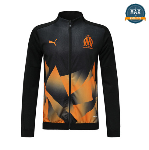 Veste Marseille 2019/20 Noir/Orange