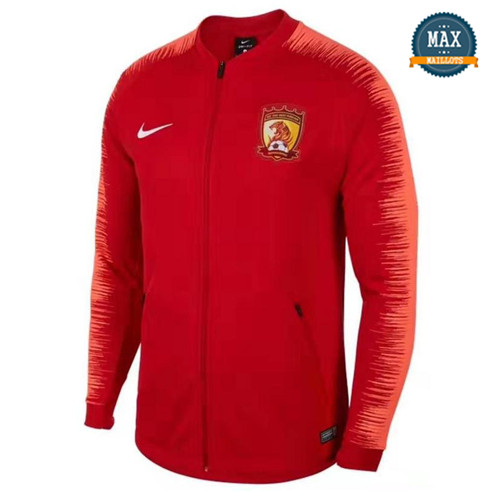 Veste Guangzhou Chine 2019/20 Rouge