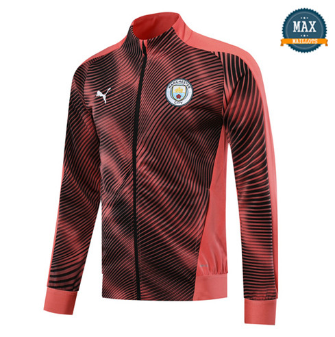 Veste Manchester City 2019/20 Rose/Noir