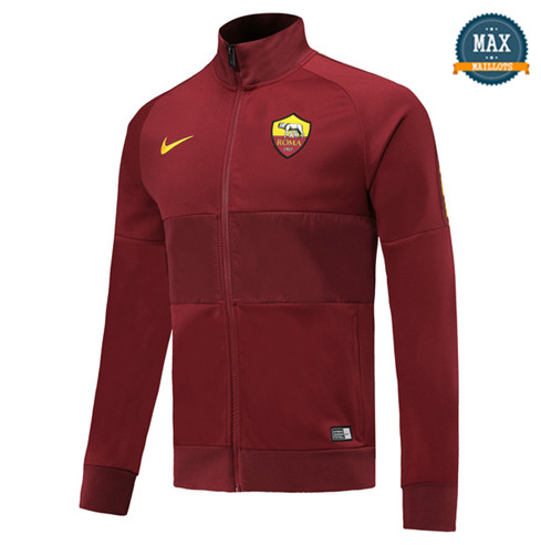 Veste AS Roma 2019/20 Jujube Rouge