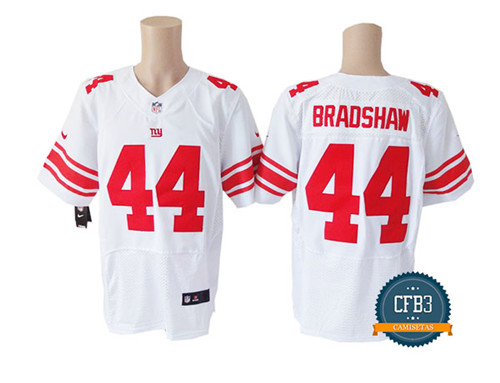 Ahmad Bradshaw, NY Giants - White/Red