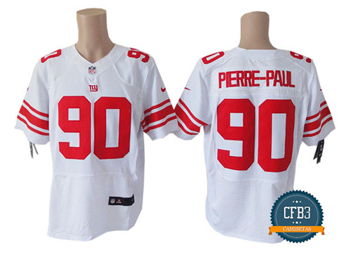 Jason Pierre-Paul, NY Giants - White/Red