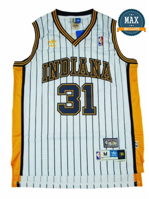 Reggie Miller, Indiana Pacers [blanc]