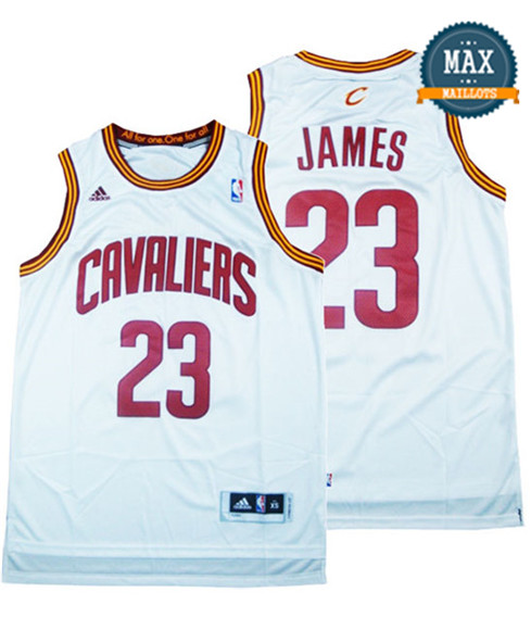 LeBron James, Cleveland Cavaliers - White
