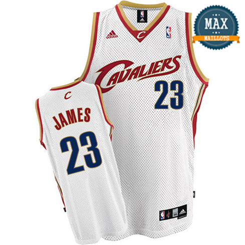 LeBron James, Cleveland Cavaliers - White Rookie