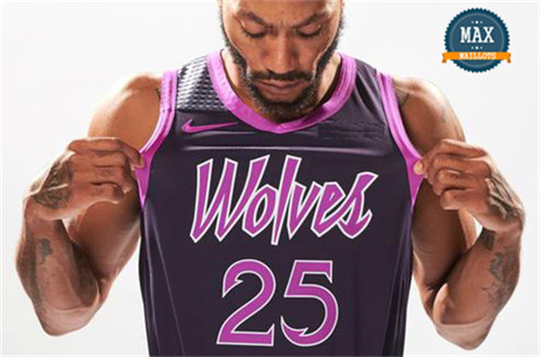 Derrick Rose, Minnesota Timberwolves 2018/19 - City Edition