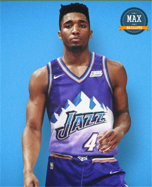 Donovan Mitchell, Utah Jazz - Retro