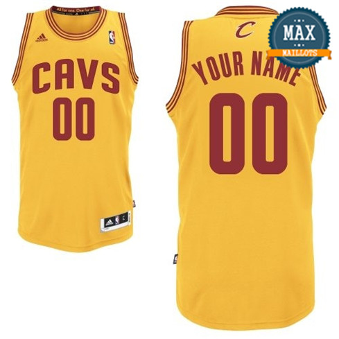 Custom, Cleveland Cavaliers - Gold