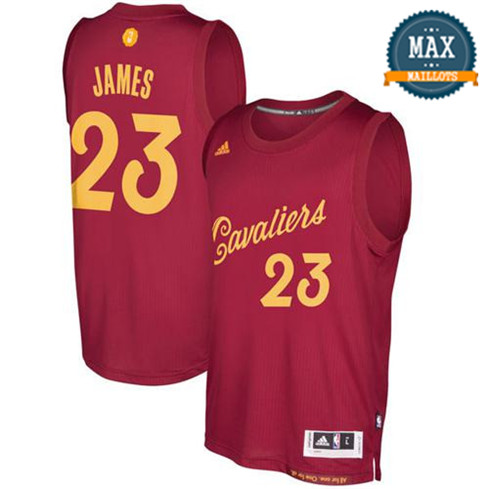 LeBron James, Cleveland Cavaliers - Christmas '17