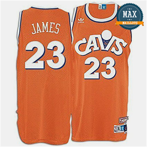 LeBron James, Cleveland Cavaliers - Orange Hardwood Classics