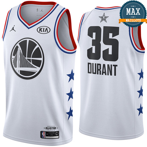 Kevin Durant - 2019 All-Star White