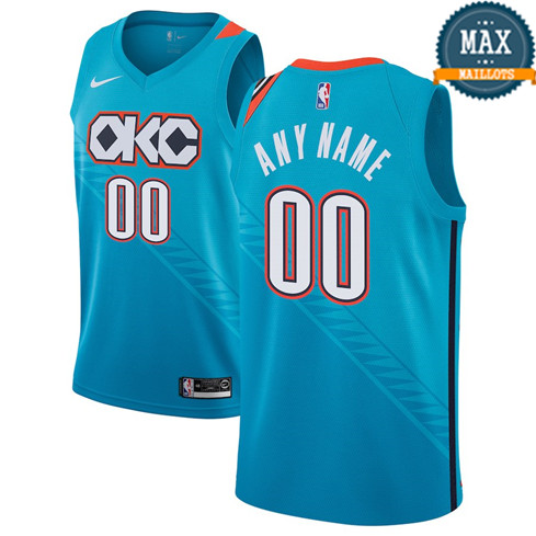 Custom, Oklahoma City Thunder 2018/19 - City Edition