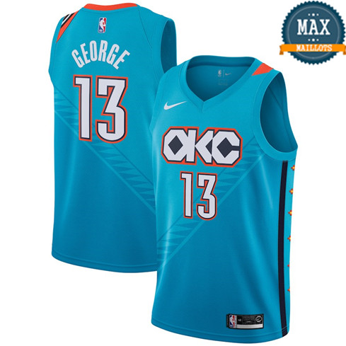Paul George, Oklahoma City Thunder 2018/19 - City Edition