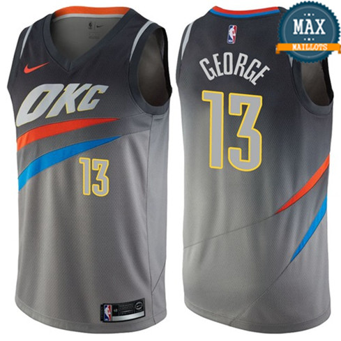 Paul George, Oklahoma City Thunder - City Edition