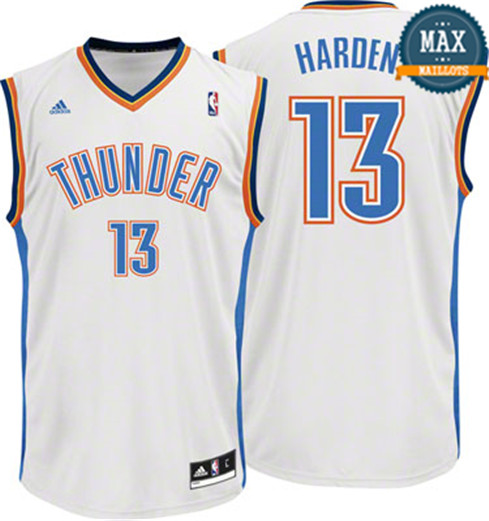 James Harden Oklahoma City Thunder [Blanc]