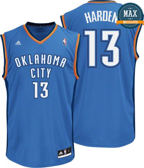 James Harden Oklahoma City Thunder [bleu]
