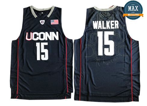 Kemba Walker, Connecticut Huskies [Navy Blue]
