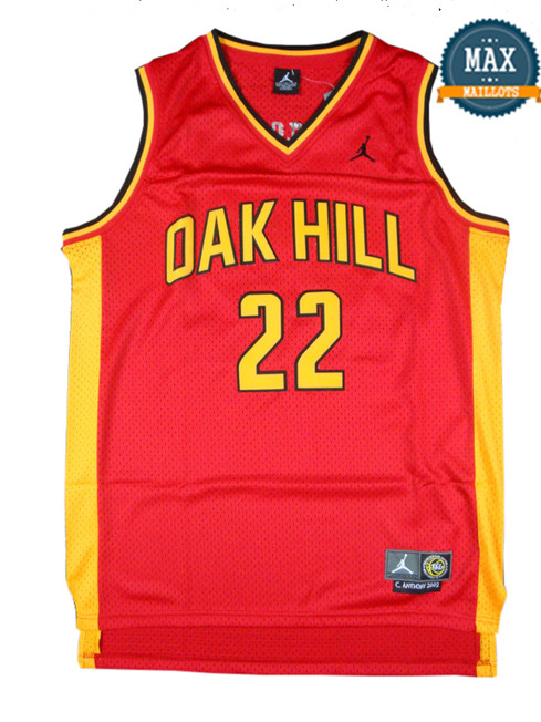 Carmelo Anthony, Oak Hill [rouge]