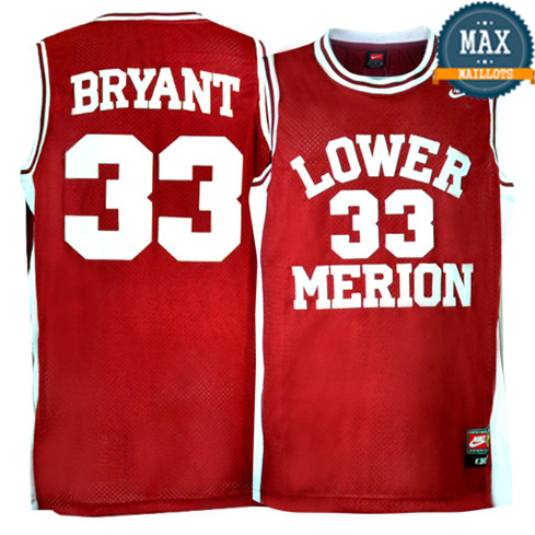 Kobe Bryant, Lower Merion [rouge]