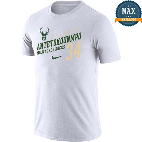 Milwaukee Bucks T-shirt - Giannis Antetokounmpo