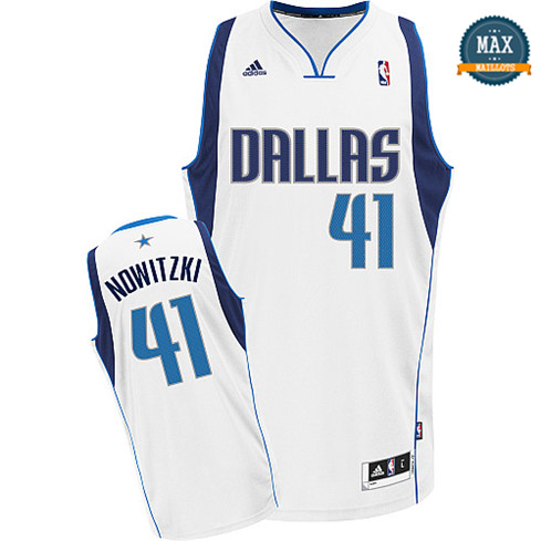 Dirk Nowitzki Dallas Mavericks 2011/2012 [Blanc]