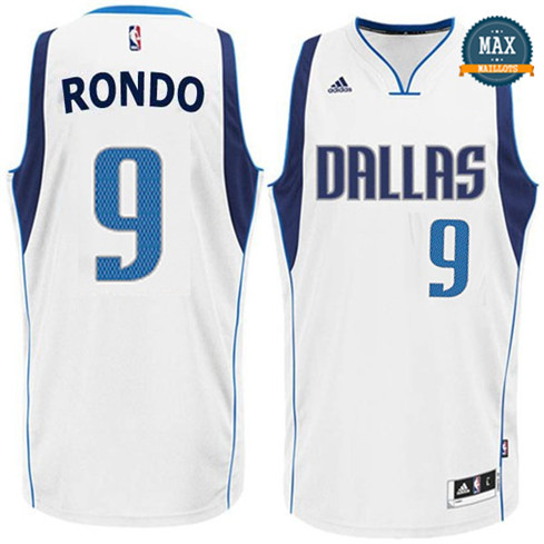 Rajon Rondo, Dallas Mavericks - Blanc