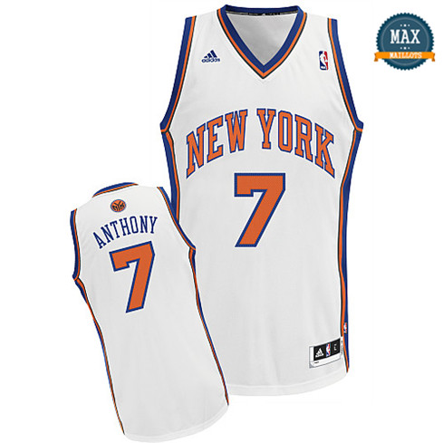Carmelo Anthony, New York Knicks [Blanc]