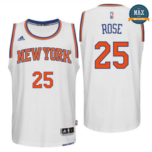 Derrick Rose, New York Knicks [Blanc]