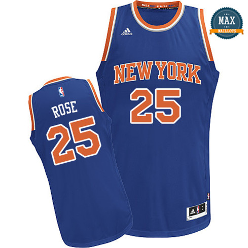 Derrick Rose, New York Knicks [Bleu]