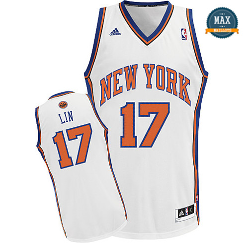 Jeremy Lin, New York Knicks 2011/2012 [Blanc]