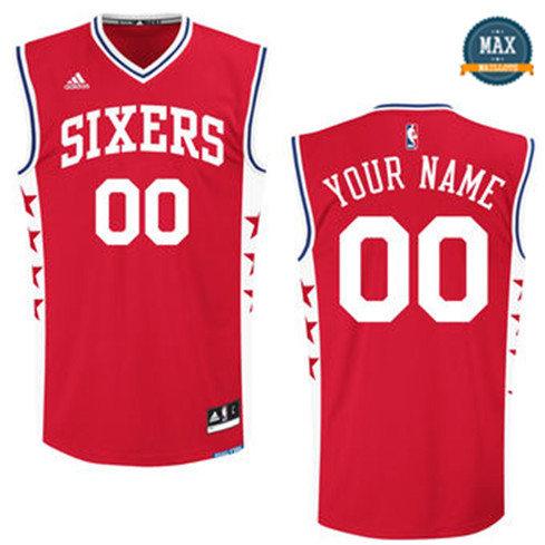 Custom, Philadelphia 76ers [Red]