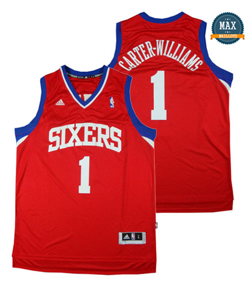 Michael Carter-Williams,Philadelphia 76ers-rouge