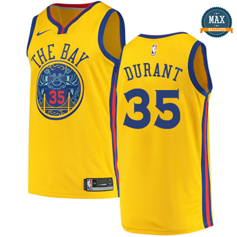 Kevin Durant, Golden State Warriors - City Edition