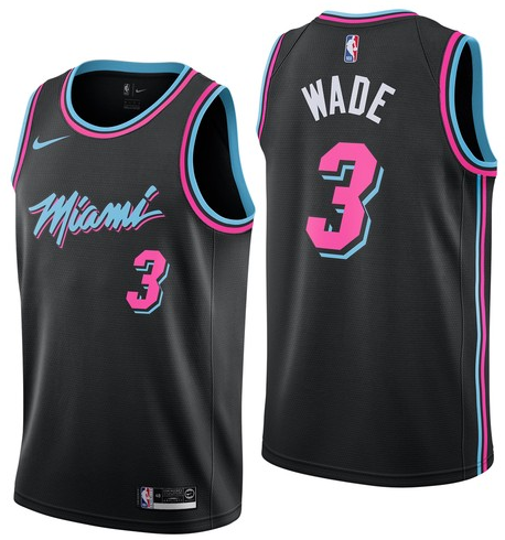 Dwyane Wade, Miami Heat 2018/19 - City Edition