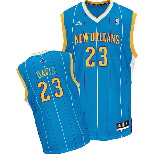 Anthony Davis, New Orleans Hornets [bleu]