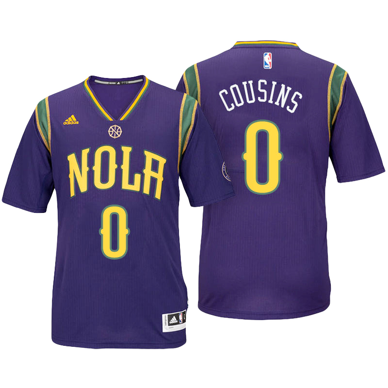 DeMarcus Cousins, New Orleans Hornets [Purple]