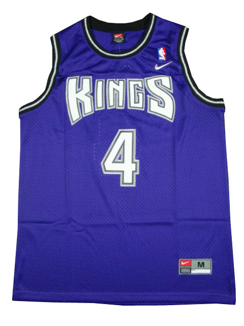 Chris Webber, Sacramento Kings [violette]